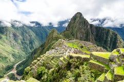 Machu Picchu. In the Andes, Peru stock photos