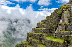 Machu Picchu. In the Andes, Peru stock images