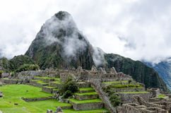 Machu Picchu. In the Andes, Peru Royalty Free Stock Photography