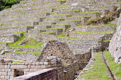 Machu Picchu. In the Andes, Peru Stock Photography