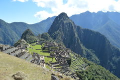 Machu Picchu. Angles Machu Picchu in Peru Royalty Free Stock Photography