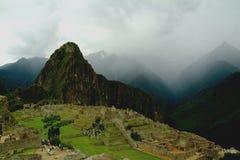 Machu Picchu Ansicht Stockfotografie