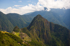 Machu Picchu archeological site Stock Images