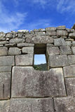 Machu Picchu architecture detail Royalty Free Stock Photos