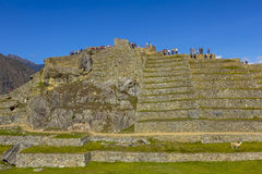 Machu Picchu arruina Cuzco Perú Imagen de archivo libre de regalías