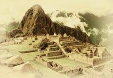 Machu Picchu au Pérou Image libre de droits