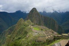 Machu Picchu au Pérou Images stock