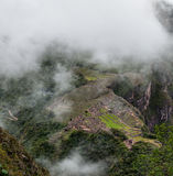 Machu Picchu beautiful panorama overview Stock Photography