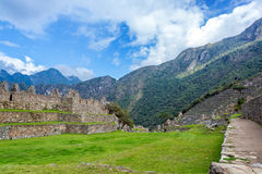 Machu Picchu and Blue Sky Royalty Free Stock Photography
