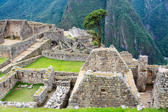 Machu Picchu Buildings Stock Photos