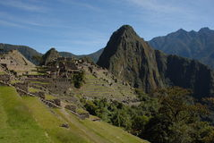 Machu Picchu From Camino Inca Royalty Free Stock Images
