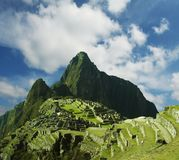 Machu-Picchu city Royalty Free Stock Images