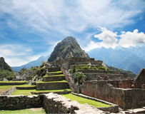 Machu-Picchu city Royalty Free Stock Photos