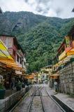 Machu Picchu city Royalty Free Stock Photo
