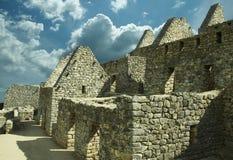 Machu-Picchu construction Royalty Free Stock Photo