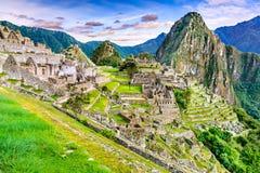 Machu Picchu, Cusco i Peru royaltyfria bilder
