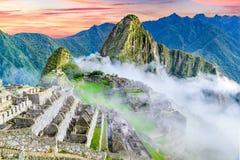 Machu Picchu, Cusco nel Perù fotografia stock libera da diritti