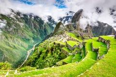 Machu Picchu, Cusco - Perù Fotografia Stock Libera da Diritti
