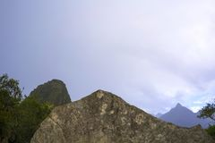 Machu Picchu, the Mecca of every traveler royalty free stock image