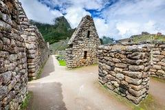 Machu Picchu, Cusco - Peru royalty free stock photos