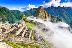 Machu Picchu, Cusco - Peru. Machu Picchu, Peru - Ruins of Inca Empire city, in Cusco region, amazing place of South America Stock Photo