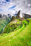 Machu Picchu, Cusco - Peru royaltyfria bilder