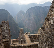 Machu Picchu in the Cusco region of Peru Royalty Free Stock Photography