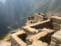 Machu Picchu in the Cusco region of Peru Stock Photo