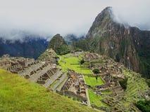 Machu Picchu, Cuzco, Peru royaltyfri foto