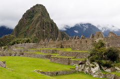 Machu Picchu dal Perù, Sudamerica Immagini Stock Libere da Diritti