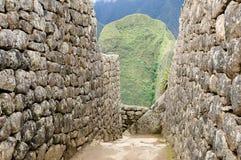 Machu Picchu dal Perù, Sudamerica Fotografia Stock