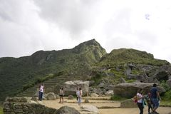 Machu Picchu, das Mekka jedes Reisenden stockfotos