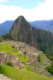Machu Picchu (de Plaats van de Erfenis van Peru) Stock Afbeelding