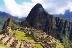 Machu Picchu, de Verloren Stad Inca Stock Foto