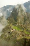 Machu Picchu in de vroege ochtend Stock Foto