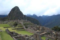 Machu Picchu den gömda Inca City i molnen royaltyfri fotografi