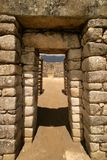 Machu Picchu Doorway Royalty Free Stock Image
