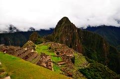 Machu Picchu e Huayna Picchu Immagini Stock Libere da Diritti