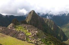 Machu Picchu een bezienswaardigheid Royalty-vrije Stock Afbeelding