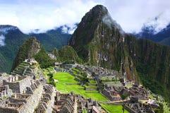 Machu Picchu em Peru fotos de stock