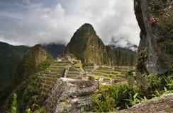 Machu Picchu en Perú Imagen de archivo libre de regalías