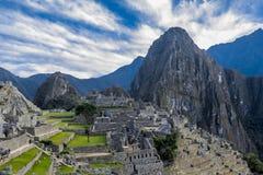 Machu Picchu fördärvar Cuzco Peru Fotografering för Bildbyråer