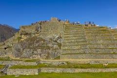 Machu Picchu fördärvar Cuzco Peru Royaltyfri Bild