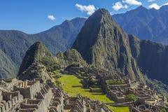 Machu Picchu fördärvar Cuzco Peru Royaltyfri Foto