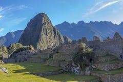 Machu Picchu fördärvar Cuzco Peru Arkivbild