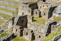 Machu Picchu fördärvar peruanen Anderna Cuzco Peru Arkivfoton