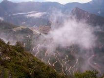 Machu Picchu från avstånd Royaltyfri Fotografi