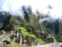 Machu Picchu från söderna royaltyfri bild