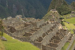 Machu Picchu the hidden Inca City in the clouds Stock Photo