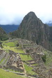 Machu Picchu the hidden Inca City in the clouds Royalty Free Stock Images